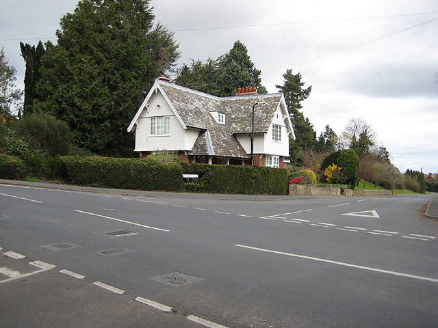 House at the crossroads