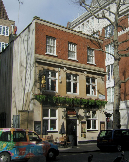 The Marquis of Granby, Dean Bradley Street, Westminster, London SW1