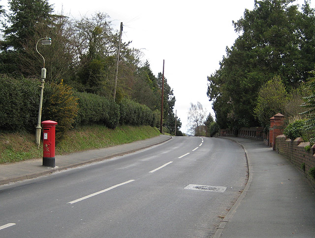 GR postbox in Hafod Road