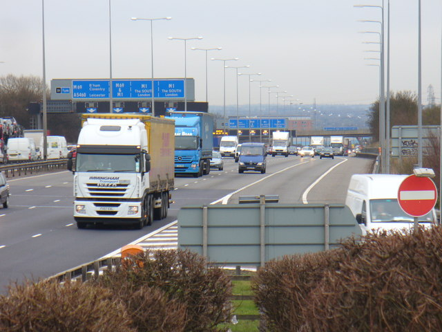 M1 at Leicester Forest Services