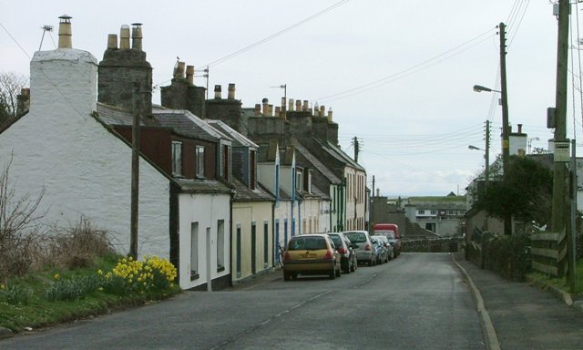 Approaching Isle on the Whithorn Road
