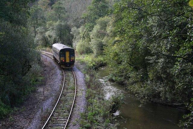 Looe train nr Sandplace