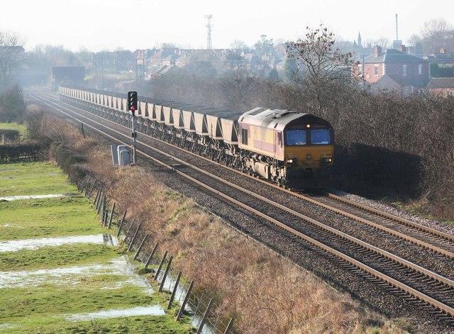 Coal for West Burton nr Leverton Road  Retford