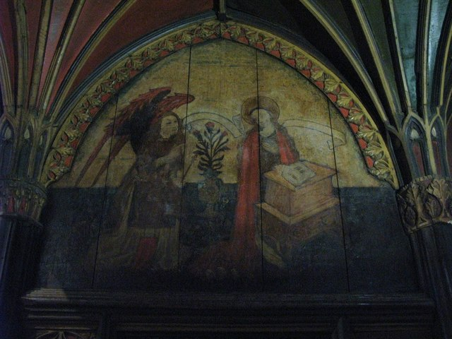The Annunciation, Hexham Abbey