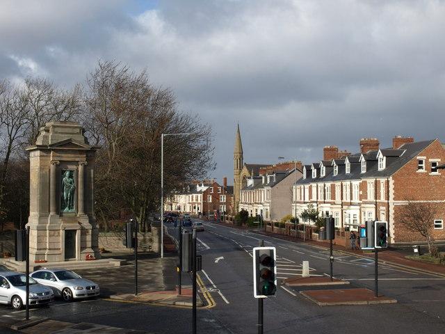 Cenotaph, Durham Road, Gateshead.