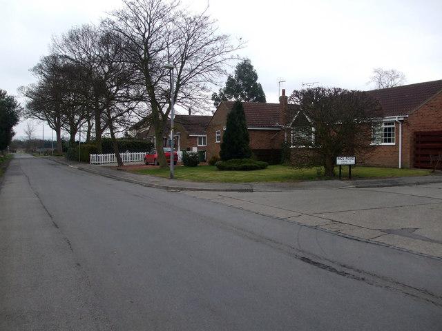 Ings Road Storking Lane Junction