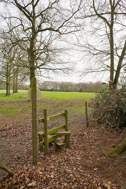 Footpath from Bracken Farm towards Boulder Wood, Plaitford