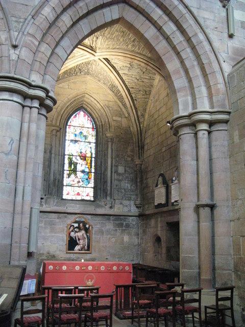 St Ethelreda's Chapel, South Transept, Hexham Abbey