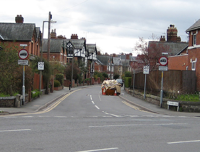 St. James Road, Hereford