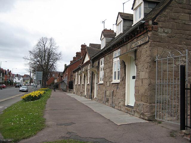 Almshouses, St. Owen Street, Hereford