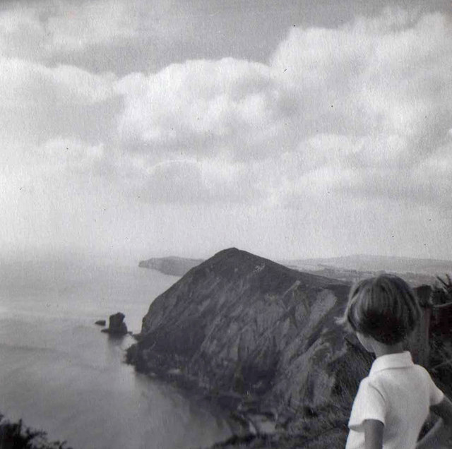 High Peak and Big Picket Rock, Sidmouth, Devon taken in 1959