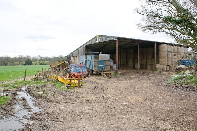 Barn near Sawpit Cottages