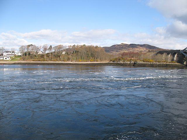 Tide race, Loch Etive
