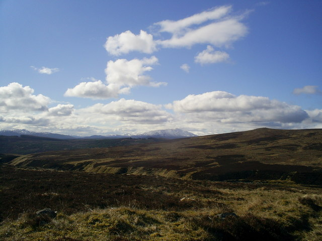 Track from Allt Sheicheachan bothy to Old Blair