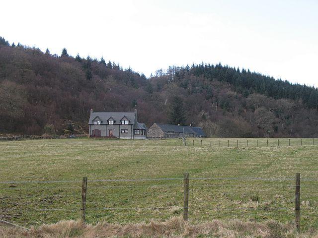 Farmland beside Loch Creran