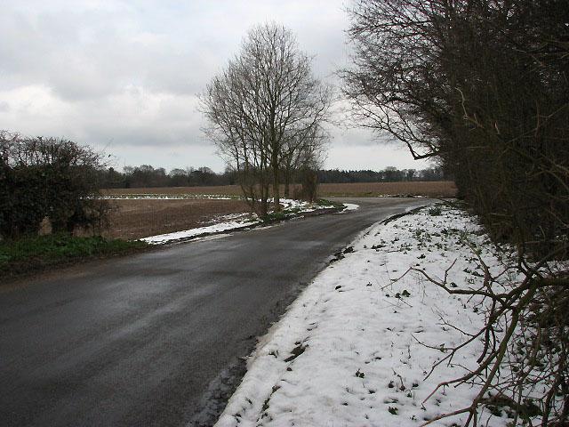 Fields beside Barton Road
