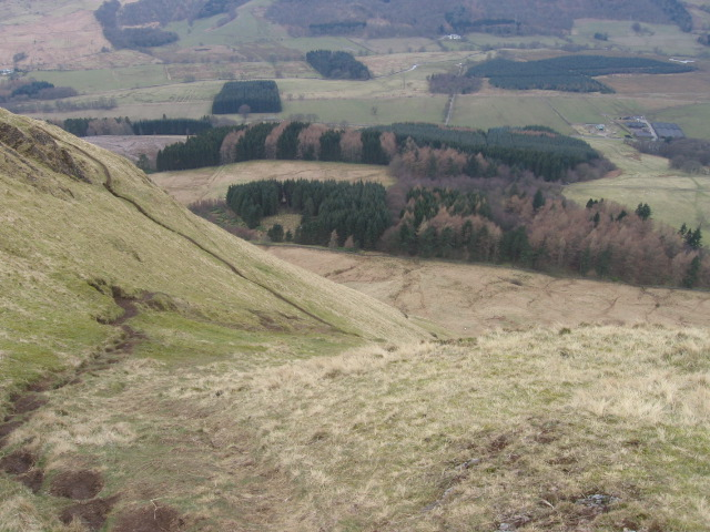 From the slopes of Dumgoyne