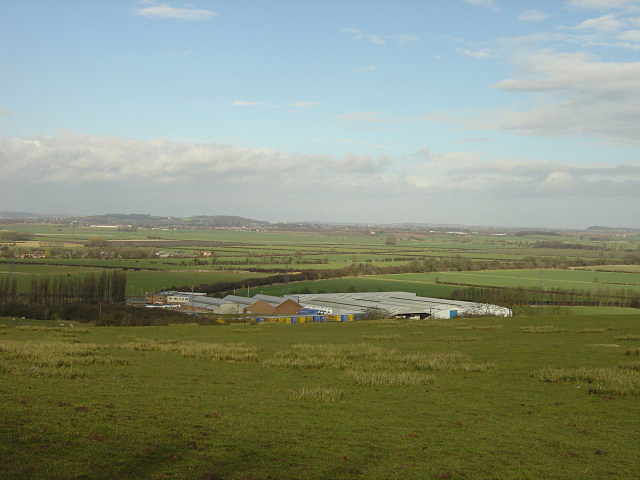 The view from West Leake Hills