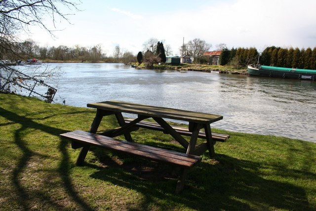 Picnic by the Trent