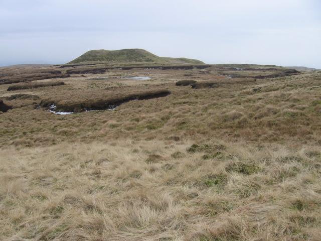 Clachertyfarlie Knowes from Garloch Hill