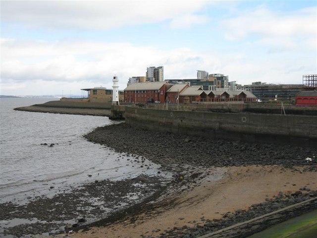 Newhaven Harbour entrance