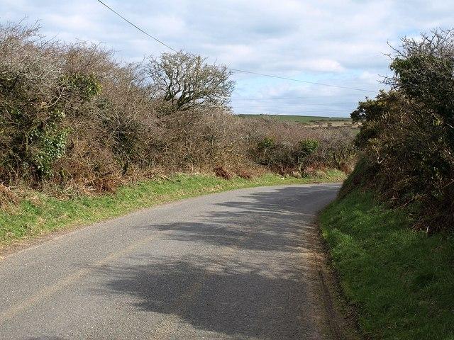 Lane near Hendraburnick