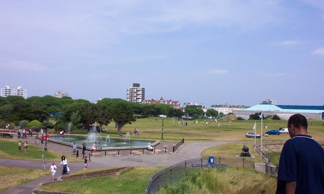Castle Field from Southsea Castle