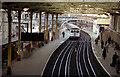 TQ3181 : Farringdon station by Dr Neil Clifton