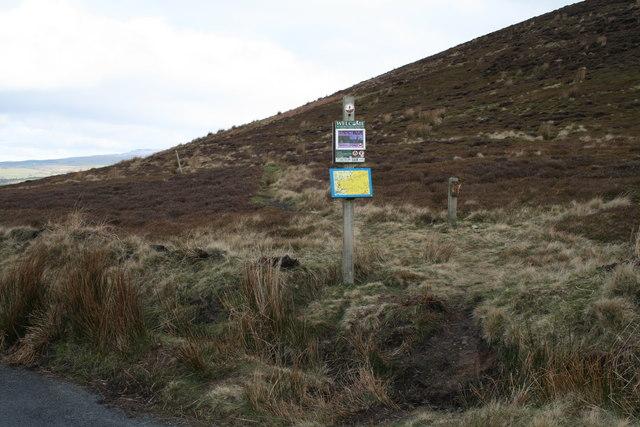 Path on Harrisend Fell