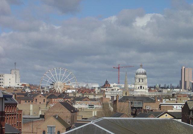 Nottingham roofscape
