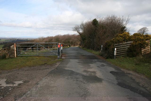 Cattle Grid near Crosshill Farm