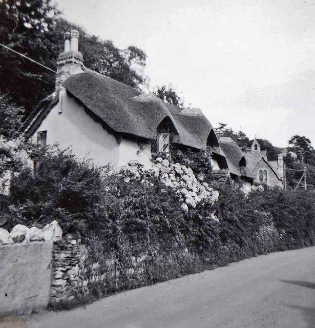 Old Maid's Cottage, Lee, Devon taken 1960