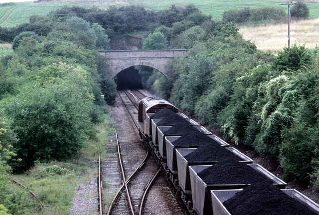 Coal from Harworth passes Whitwell