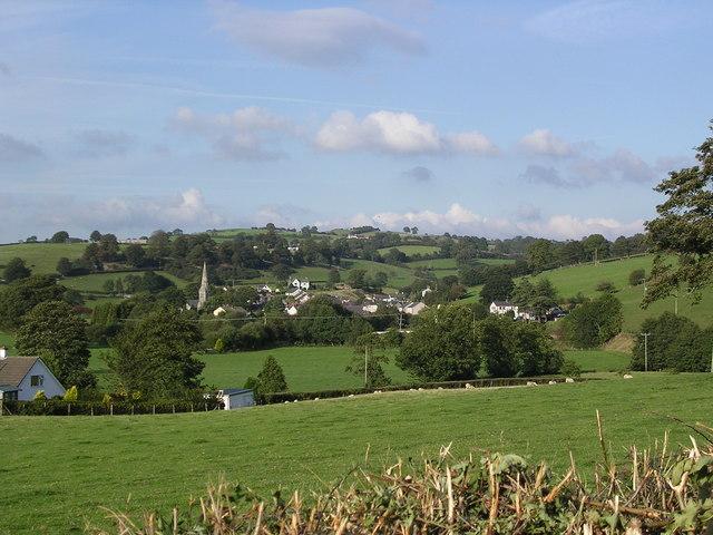 View of Gwyddelwern