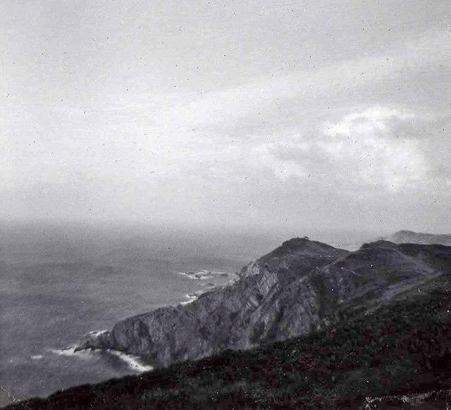 Shag Point, near Lee, Devon, taken 1960