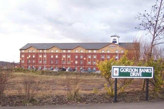 Holiday Express Hotel, near Britannia Stadium, Stoke-on-Trent