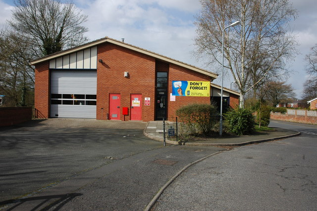 Upton-upon-Severn Fire Station