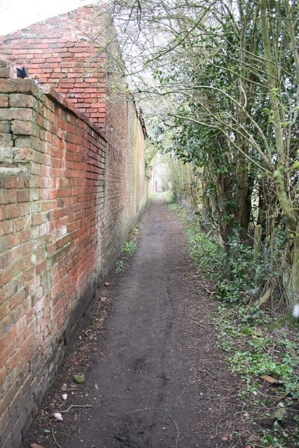 Footpath by the mill