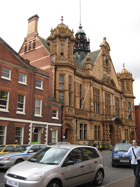Town Hall, Hereford