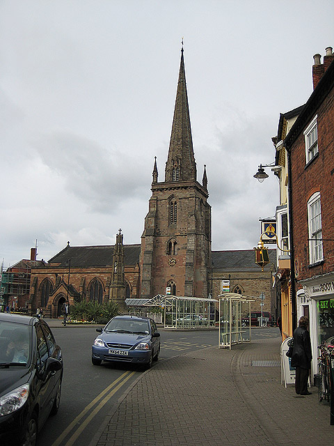 Approaching St. Peter's Square, Hereford