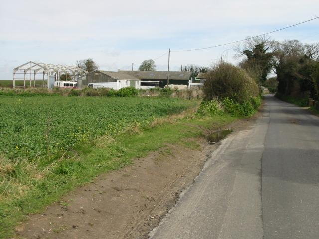 Cheeseman's Farm, Alland Grange Road