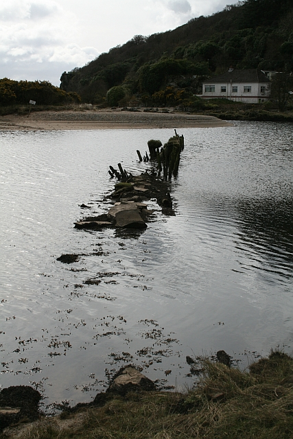 Old Breakwater at Waterfoot