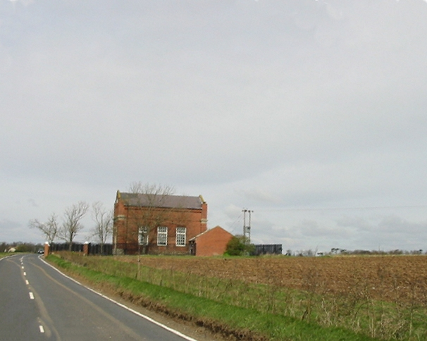 Pumping station on Manston Road