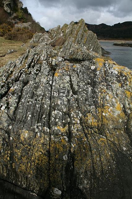 Rock near Waterfoot