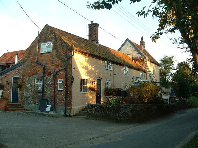 The Eel's Foot pub, Eastbridge, Suffolk