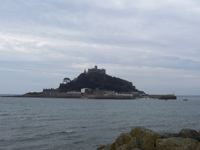 St Michaels Mount, Cornwall.
