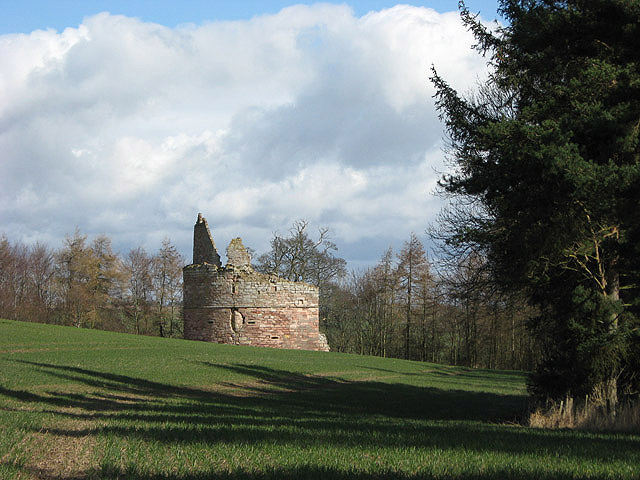 The remains of Littledean Tower