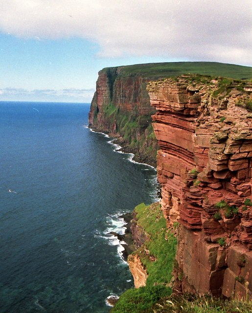 Looking towards the Carl to the north of The Old Man of Hoy
