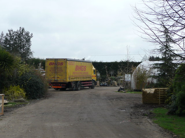Sundries delivery at Kingsdown Nurseries