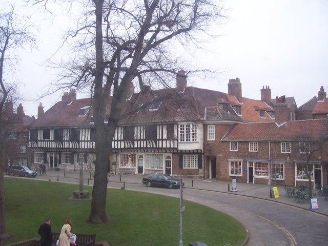 College Street, taken from the Cross keys on Goodramgate.